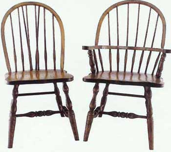 Amish Made Windsor Chair