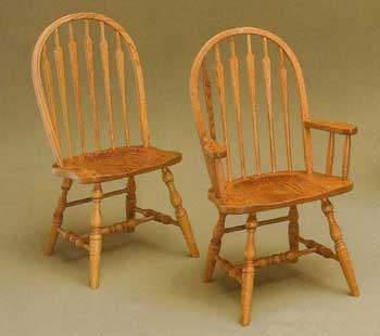 Amish Made High Arrow Chair