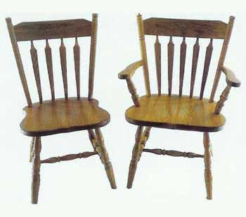 Amish Made Colonial Arrow Chair