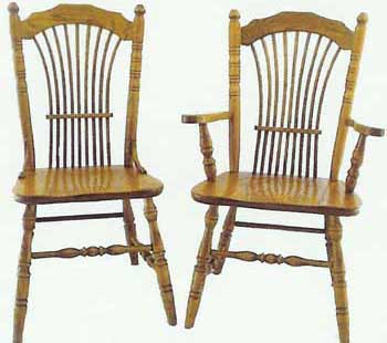 Amish Made Wheatland Chair