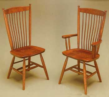 Amish Made Easton Shaker Chair