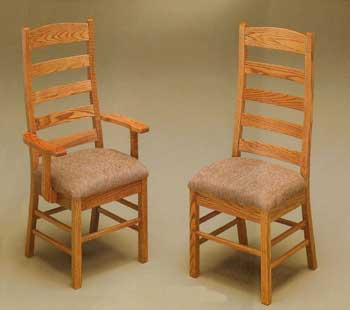 Amish Made Springfield Ladderback Chair