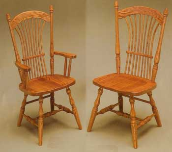 Amish Made Wheat Chair