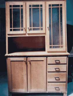 Amish Custom Made Hoosier Mission Hutch
