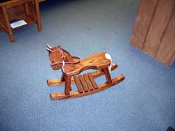 Small Locally Made Rocking Horse