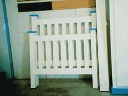 Amish Custom Made Painted Youth Bed