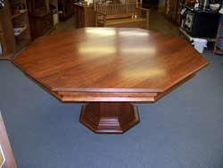 Locally Amish Custom Made Poker Table in Solid Cherry